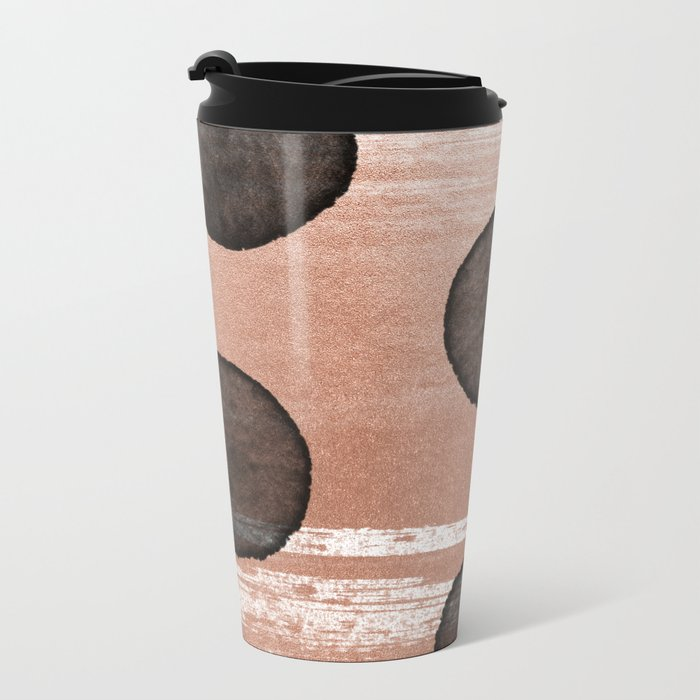 rose gold #2 Metal Travel Mug