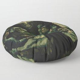 Vincent van Gogh - The Potato Eaters (1885) Floor Pillow