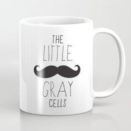 Poirot - The Little Gray Cells Coffee Mug