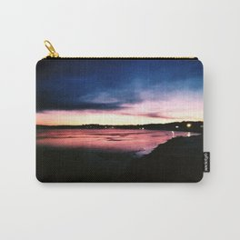 Snowy Sunset Carry-All Pouch