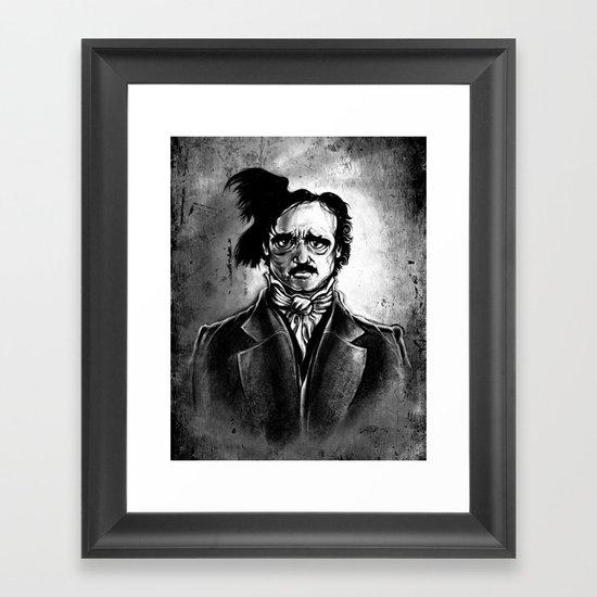 Edgar Allan Poe - I am the Raven Framed Art Print