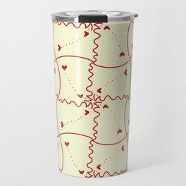 Stitch heart Travel Mug