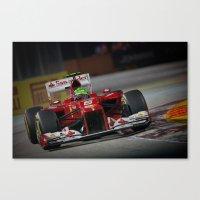 ferrari Canvas Prints featuring Ferrari  by Joseph Christopher