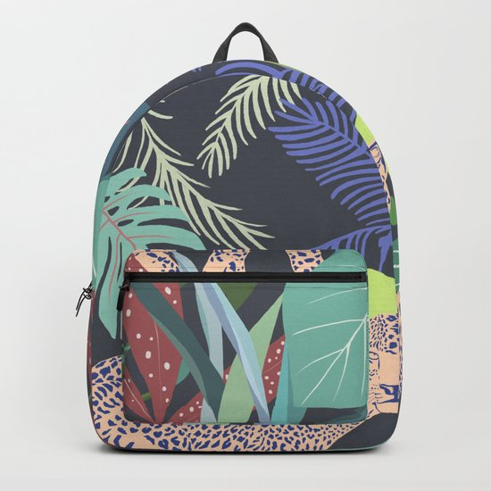 Hello Leopard Backpack
