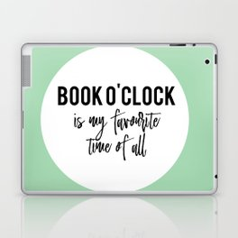 Book o'clock is my favourite time of all! Laptop & iPad Skin