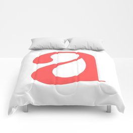 lowercase a Comforters