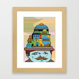 GLAD HATTER 2 Framed Art Print