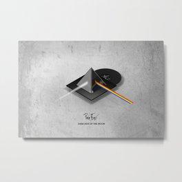 Pink Floyd - Dark Side of the Moon Metal Print