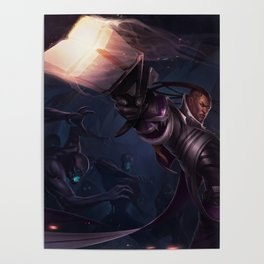 Classic Lucian League Of legends Poster
