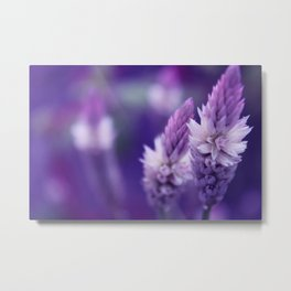 Peace and Flowers Metal Print