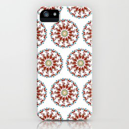 Hand drawn Mandala design iPhone Case