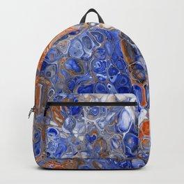 Team Splash, Orange and Blue Backpack