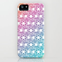 Rainbow Lace iPhone Case