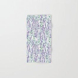 Watercolor Lavnder Hand & Bath Towel