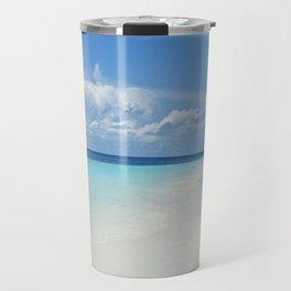The Maldives' Blue Travel Mug