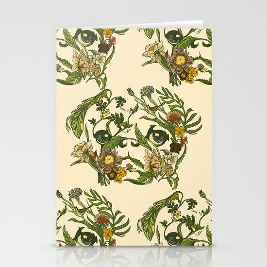 Botanical Pug Stationery Cards
