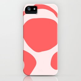 Pink Study No. 1 iPhone Case