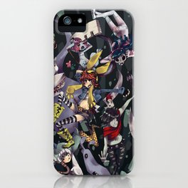Banda Pesadilla iPhone Case