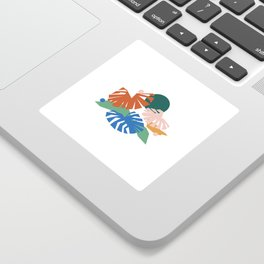 botanical dreamscape Sticker