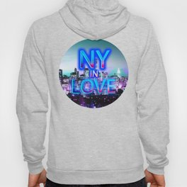 NY in love Hoody