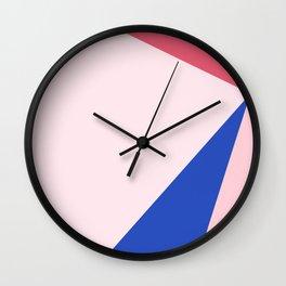 diamond shapes Wall Clock