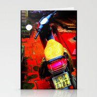 moto Stationery Cards featuring Moto by Loady