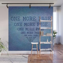One More Page Wall Mural