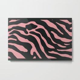 Tiger Skin Pattern Wewak Metal Print