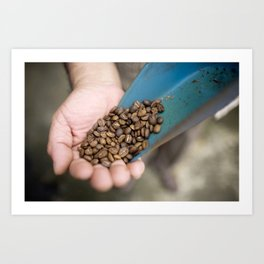 Mexican Coffee Art Print