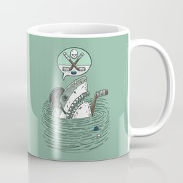 The Enforcer Shark Coffee Mug
