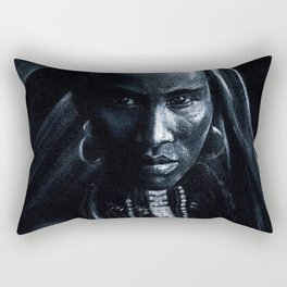 Beautiful african Rectangular Pillow