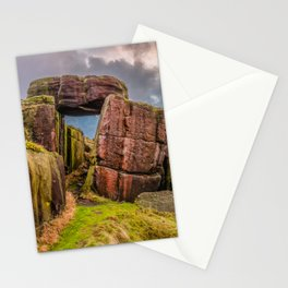 Gate to the skies Stationery Cards