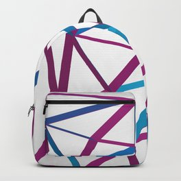 3D Futuristic GEO Lines Backpack