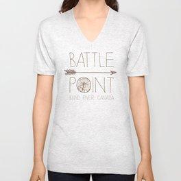 Battle Point Unisex V-Neck