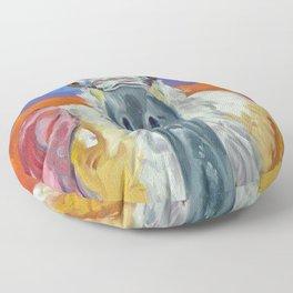 Pink Roseate Spoonbill Floor Pillow