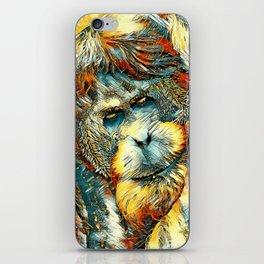 AnimalArt_OrangUtan_20170901_by_JAMColorsSpecial iPhone Skin
