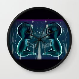 We Create Ourselves Wall Clock