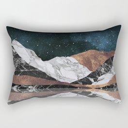 Landscape Mountains Rectangular Pillow