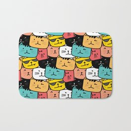 Cats Cats Everywhere Bath Mat