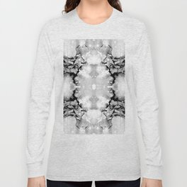 Design 94 abstract grayscale Long Sleeve T-shirt