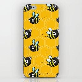 Bumble Bees iPhone Skin