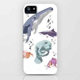 Sea Creatures iPhone Case