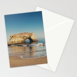 Natural Bridges State Beach ... Stationery Cards