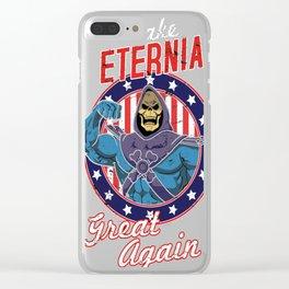 MAKE ETERNIA GREAT AGAIN Clear iPhone Case