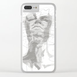 STRUGGLE Clear iPhone Case