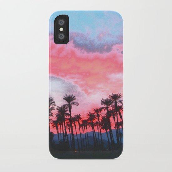Coachella Sunset iPhone Case