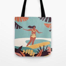 Blue Hawaii Tote Bag
