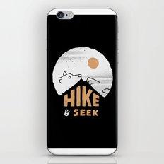 Hike And Seek iPhone & iPod Skin