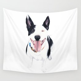 Staffy Luda Wall Tapestry