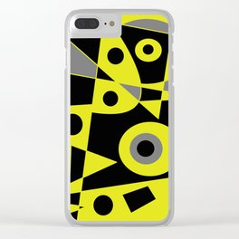 Abstract #972 Clear iPhone Case